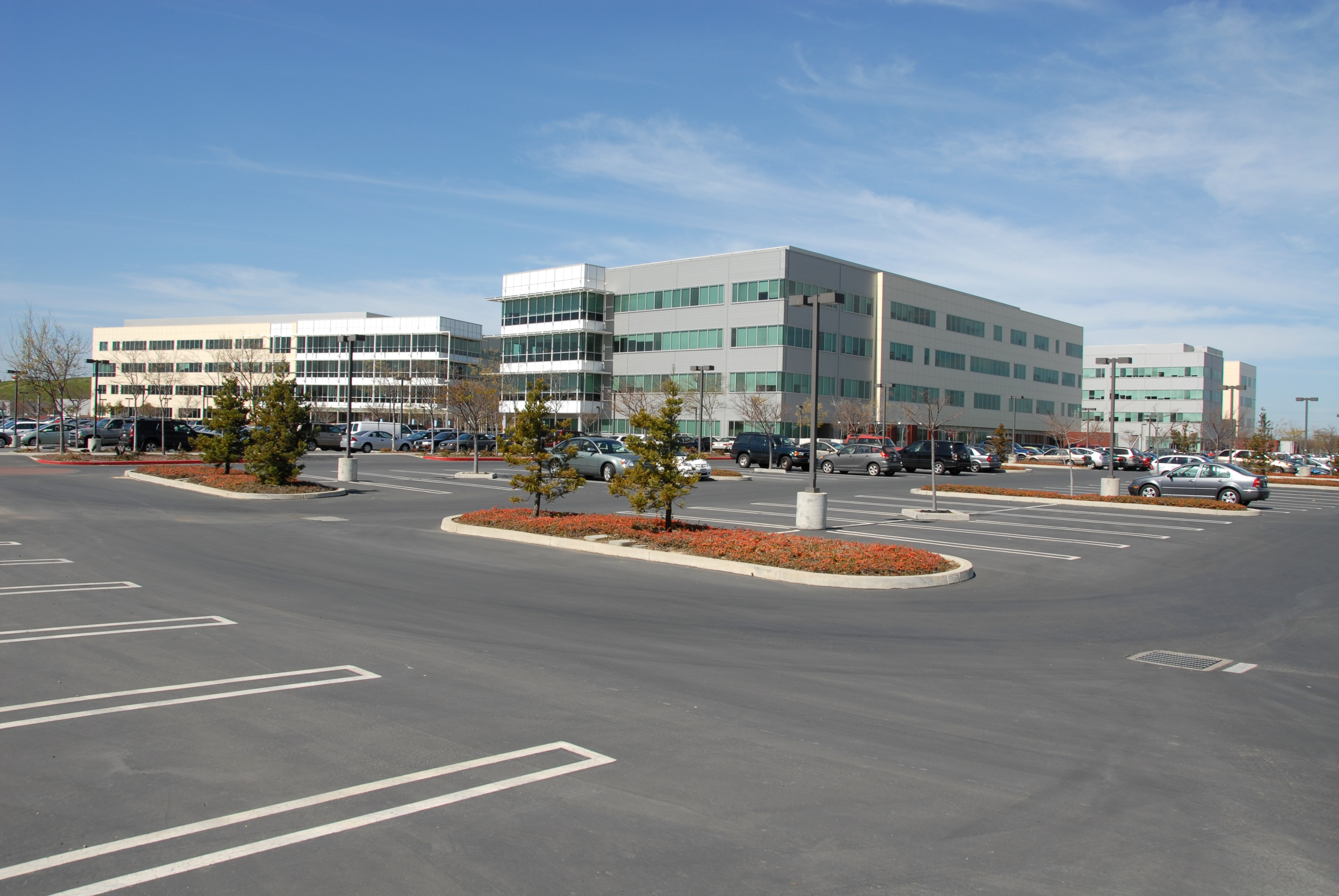 Leased systems for office parks
