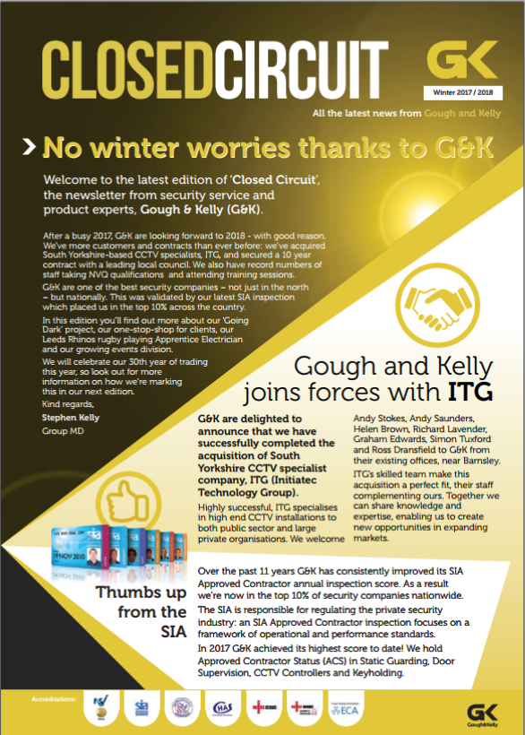 No winter worries thanks to G&K