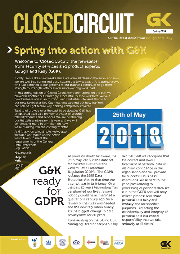Spring into action with G&K
